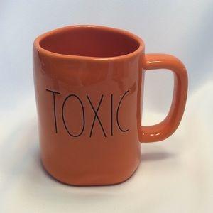 Rae Dunn 'TOXIC' Mug